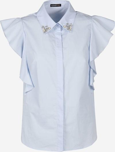 APART Bluse mit Volants in hellblau, Produktansicht