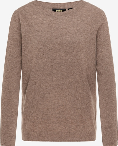 usha BLACK LABEL Pullover in cappuccino: Frontalansicht