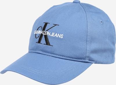 Calvin Klein Jeans Casquette en bleu clair / noir / blanc, Vue avec produit