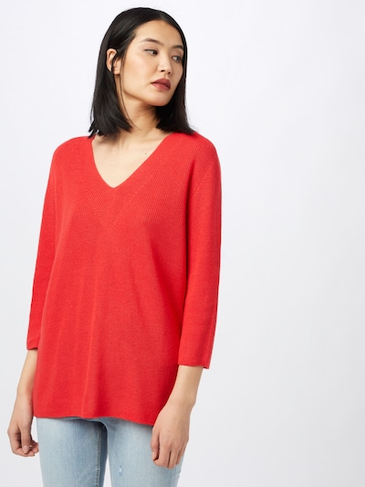 COMMA Pulover   rdeča barva: Frontalni pogled