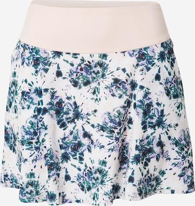 PUMA Falda deportiva en azul oscuro / verde oscuro / rosa, Vista del producto