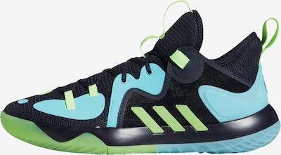ADIDAS PERFORMANCE Basketballschuh 'Harden Stepback 2.0' in nachtblau / aqua / limette, Produktansicht