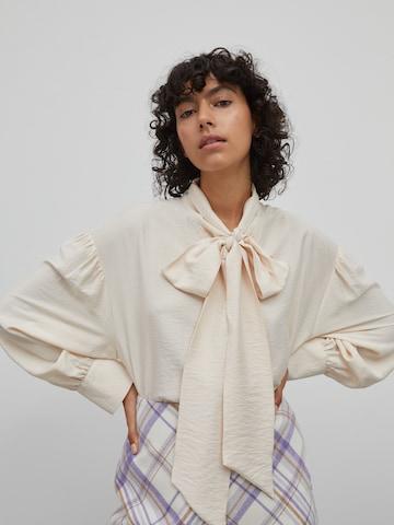 Camicia da donna 'Patricia' di EDITED in beige