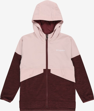 COLUMBIA Functionele fleece jas in de kleur Rosa / Bourgogne, Productweergave