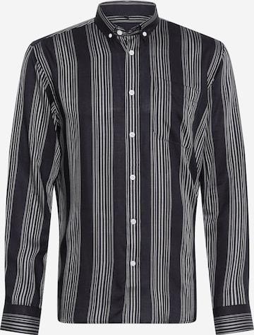 BRUUNS BAZAAR Button Up Shirt 'Ralf' in Blue