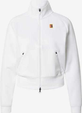 balta NIKE Sportinis džemperis
