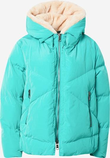 BLONDE No. 8 Chaqueta de invierno 'Snow' en turquesa, Vista del producto