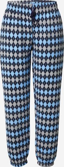 Daisy Street Hose 'MEGAN' in blau / hellblau / grau, Produktansicht