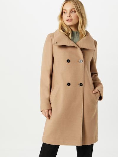 Rudeninis-žieminis paltas iš s.Oliver BLACK LABEL , spalva - smėlio, Modelio vaizdas