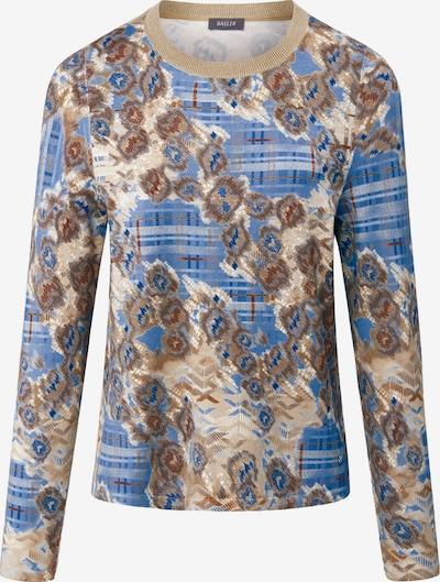 Basler Pullover in beige / blau / braun, Produktansicht