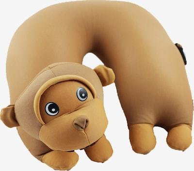 CuddleBug Nackenhörnchen U Kids Travel in braun, Produktansicht