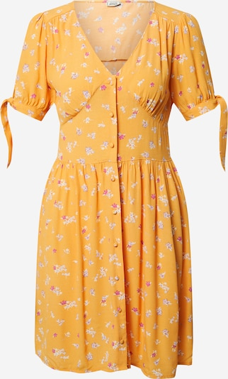 Pimkie Kleid 'D-TORI' in creme / orange / pink, Produktansicht