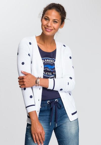 KangaROOS Strickjacke in weiß, Modelansicht