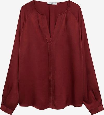 MANGO Blouse 'Rouge' in de kleur Karmijnrood, Productweergave