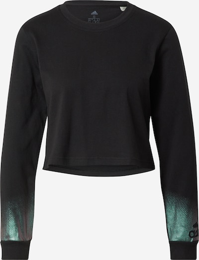 ADIDAS PERFORMANCE Camiseta funcional en verde pastel / negro, Vista del producto