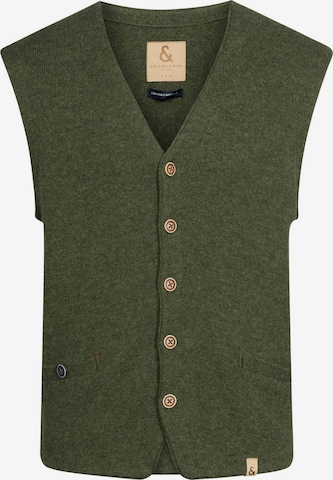 COLOURS & SONS Vest in Green