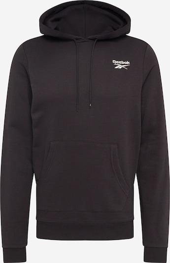 REEBOK Sportsweatshirt in de kleur Zwart, Productweergave