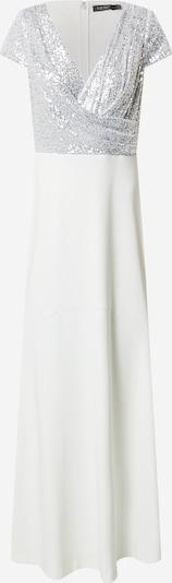 Lauren Ralph Lauren Večerna obleka 'KRYSTAL' | srebrno-siva / bela barva, Prikaz izdelka