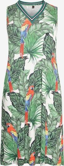 Yoek Kleid ' Parrot ' in blau / grün / rot / weiß, Produktansicht