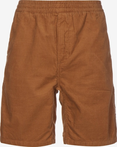 Carhartt WIP Pantalon ' Flint Short ' en caramel, Vue avec produit