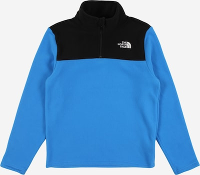 THE NORTH FACE Sport-Pullover 'GLACIER ' in blau / schwarz, Produktansicht