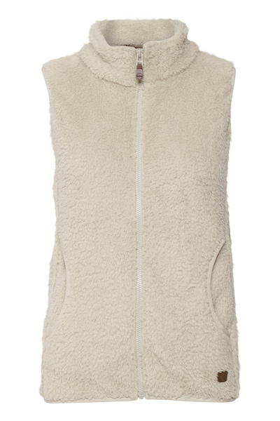 Oxmo Sweatweste  'THERI' in creme, Produktansicht