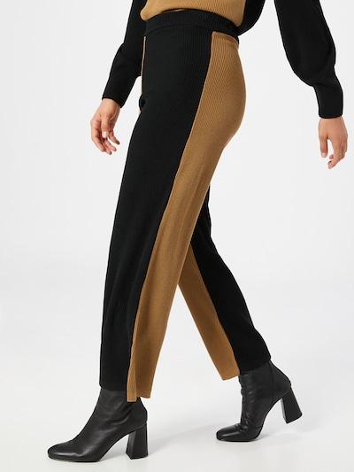 Unique21 Kalhoty - velbloudí / černá, Model/ka