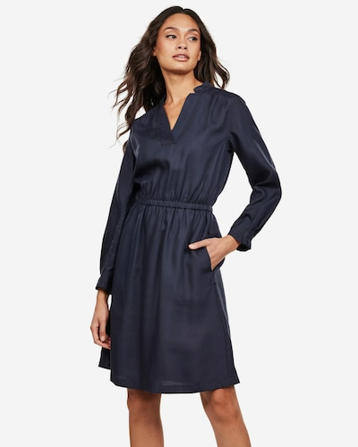 G-Star RAW Kleid ' Ogee Straight ' in blau, Modelansicht