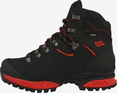 HANWAG Schuh in rot / schwarz, Produktansicht