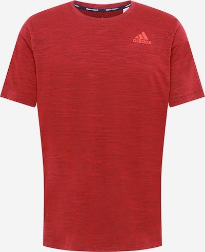 ADIDAS PERFORMANCE Camiseta funcional en rojo oscuro, Vista del producto
