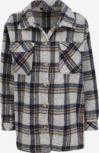 Missguided (Tall) Jacke in beige / dunkelblau / braun / schwarz, Produktansicht