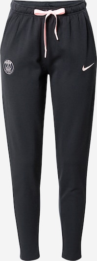 NIKE Sportbyxa 'Paris Saint-Germain' i ljusrosa / svart, Produktvy