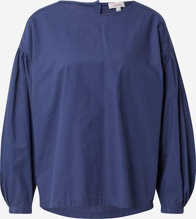 s.Oliver Blouse in de kleur Donkerblauw, Productweergave