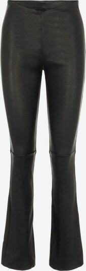 Y.A.S Lederhose in schwarz, Produktansicht