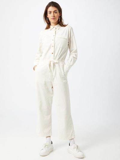 Marc O'Polo DENIM Jumpsuit in de kleur Offwhite, Modelweergave