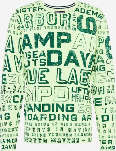 CAMP DAVID Pull-over en vert / vert clair, Vue avec produit