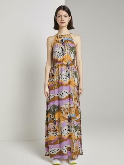 TOM TAILOR DENIM Kleid in mischfarben, Modelansicht