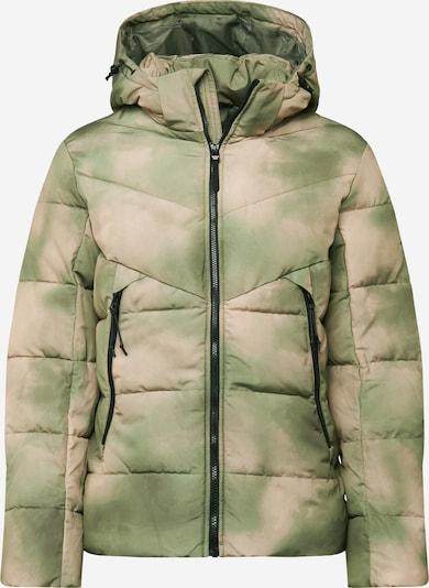 TOM TAILOR DENIM Winterjas in de kleur Lichtgroen / Donkergroen, Productweergave