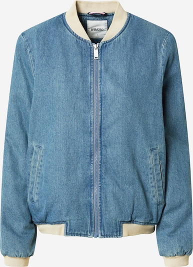 Wemoto Starpsezonu jaka 'Joseph', krāsa - krēmkrāsas / zils džinss, Preces skats
