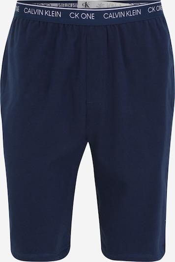 Calvin Klein Underwear Pantalon de pyjama en bleu marine / blanc, Vue avec produit