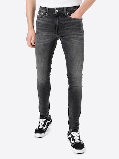 Calvin Klein Jeans Kavbojke | siv denim barva, Prikaz modela