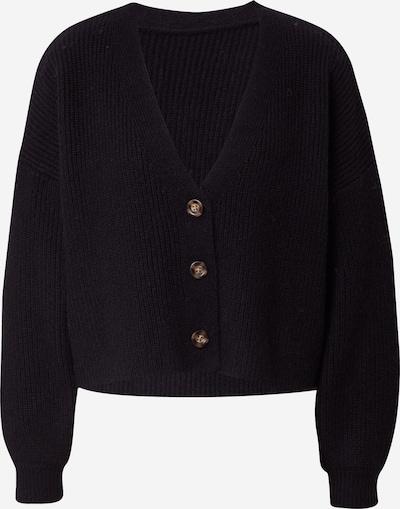 Geacă tricotată 'Florence' ABOUT YOU x MOGLI pe negru, Vizualizare produs
