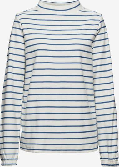 ESPRIT T-shirt en bleu / blanc, Vue avec produit