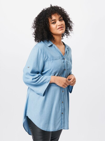 Z-One Bluza 'Tenny' | modra barva: Frontalni pogled