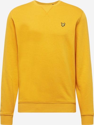 Lyle & Scott Sweatshirt in gelb / safran / schwarz, Produktansicht