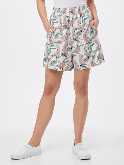 DRYKORN Shorts 'SWEETIE' in mischfarben / weiß, Modelansicht