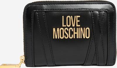 Portofel Love Moschino pe auriu / negru, Vizualizare produs