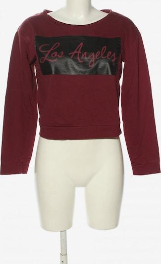 Jennyfer Sweatshirt in M in rot / schwarz, Produktansicht