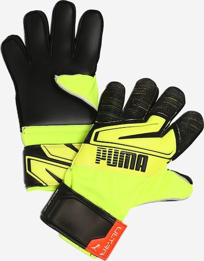 PUMA Sportovní rukavice - svítivě žlutá / černá, Produkt