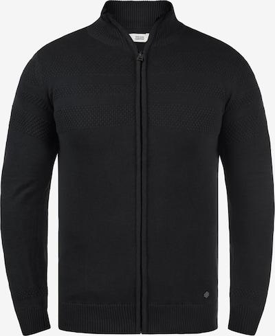 !Solid Gebreid vest 'Barama' in de kleur Zwart, Productweergave